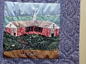 HARWINTON - HARWINTON LIBRARY - 250th ANNIVERSARY QUILT 12