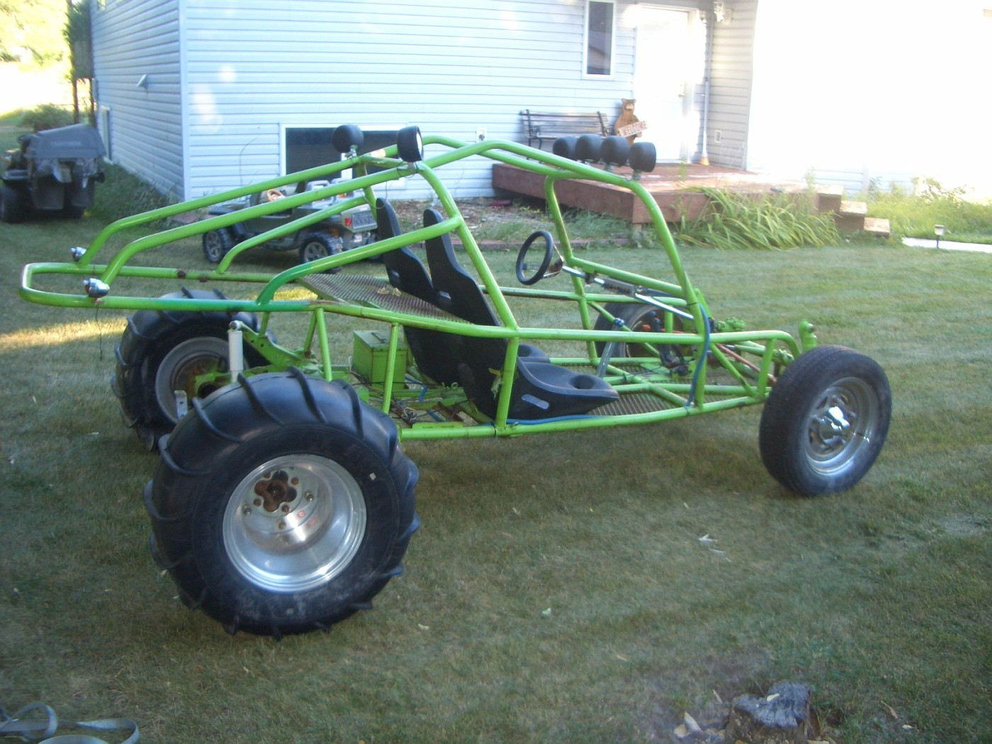 Photo: Green Frame | V.W. Dune Buggy-Sand Rail album ...