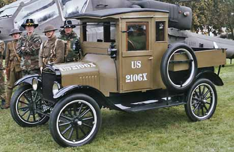 Dodge Truck Salvage Yards >> Photo: 1917 Ford model T US Army truck | 1-Ford Model T ...