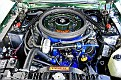 Shelby Mustang 1968 EXP Green Hornet engine bay