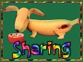 1Sharing-bananadog