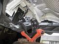 Drop P. Side exhaust bracket