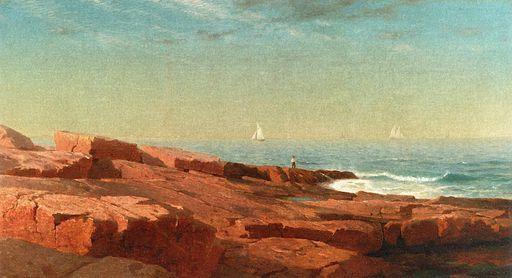 Rocks at Narraansett [1863]