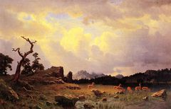 Thunderstorm in the Rocky Mountains [1859]