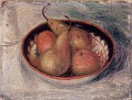 Pears and Oranges in a Bowl [c.1915]