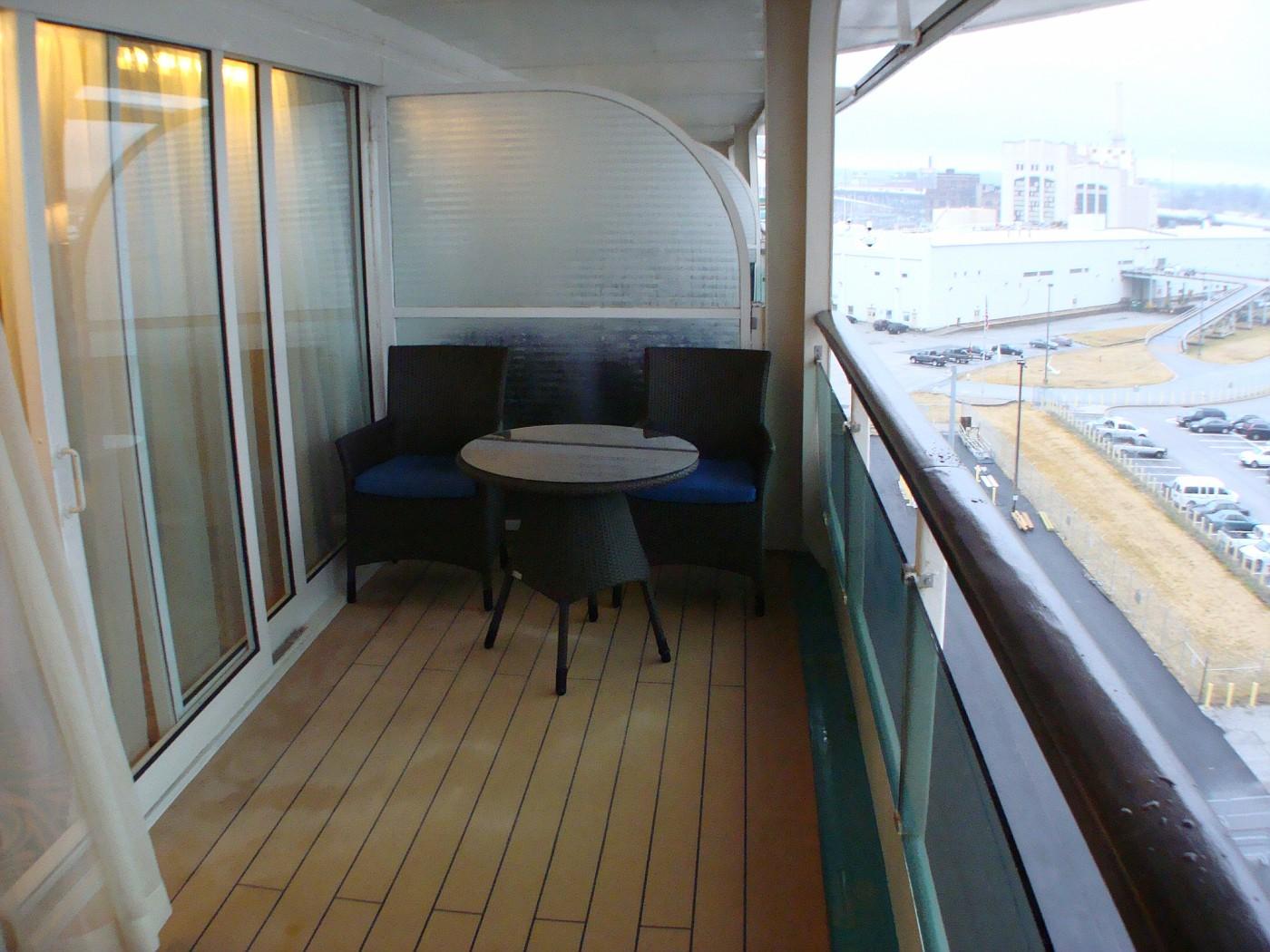 8528 Grand Suite Balcony