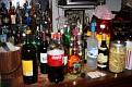 Super Bowl party chez Mireille et Fanfan. Toutes sortes de boissons à notre disposition.