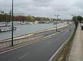 Une vue magnifique de La Seine. (de la rive gauche étant).