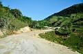 "Temporary road to cross the "" Etang of Miragoane."