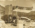 Travaux de construction du barrage de Péligre. 25 février 1955.