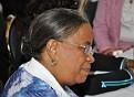 Presidential candidate Mirlande Manigat