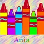 Crayons at schoolAnia