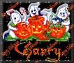 3 Ghosts & pumpkinGarry