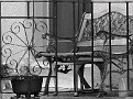 Balcony ironwork