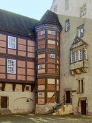 Eckturm Innenhof