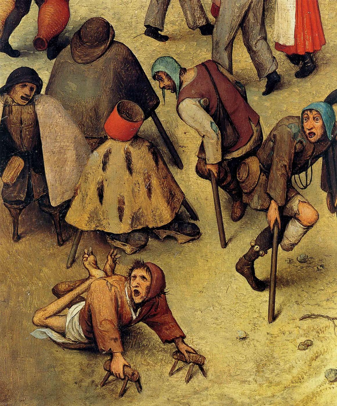 [Clio Team] 1559 Bruegel l'Ancien Le combat de Carnaval et de CarИme, dВtail les mutilВs,  The combat of Carnival and Lent, detail mutilated.jpg