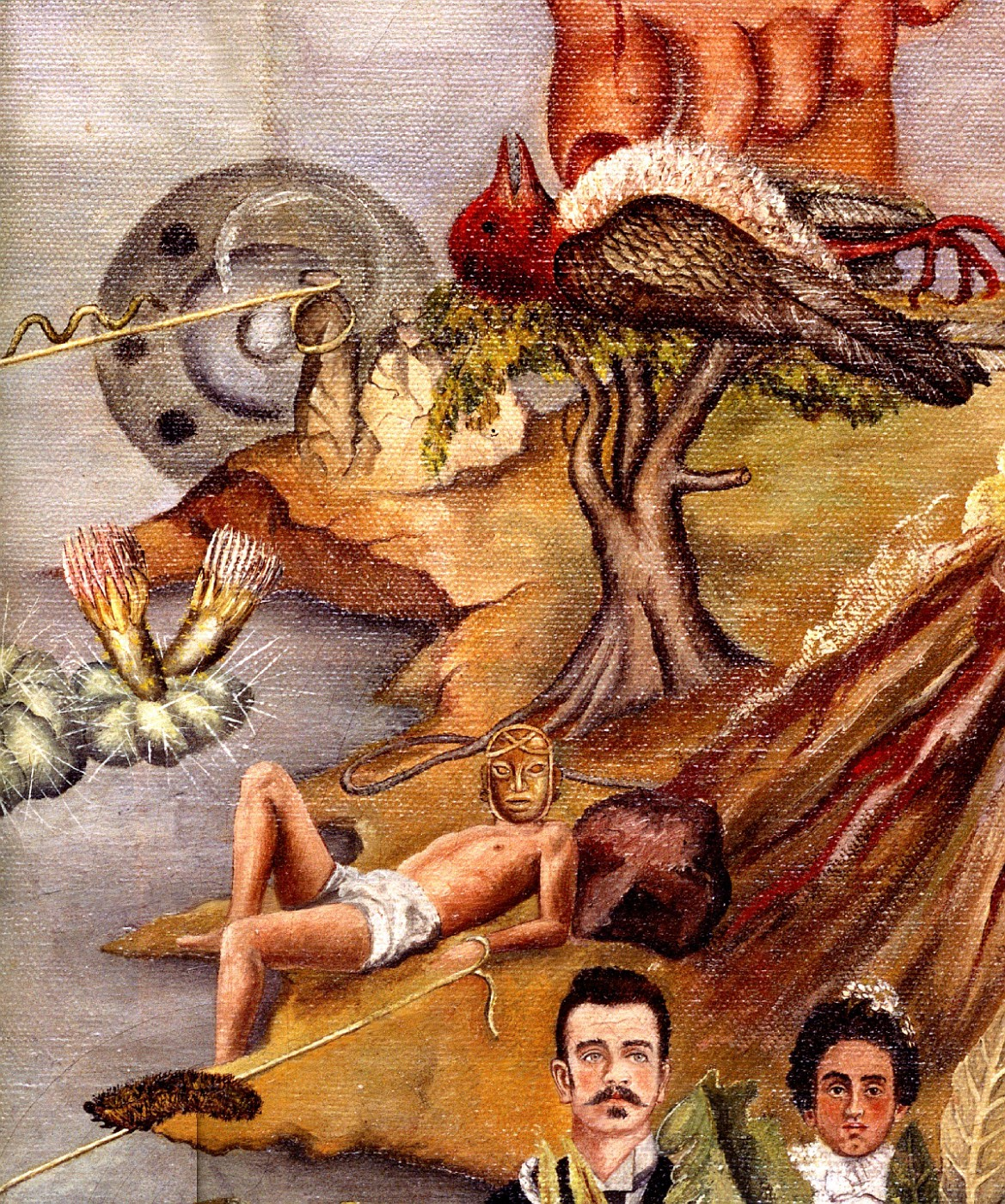 Фрида кало рисует индейца лежа в постели у художницы фриды кало тело было многократно покалеченным более 32 операций за жизнь , правая нога с детства короче и тоньше левой, а потом и вовсе была ампутирована.
