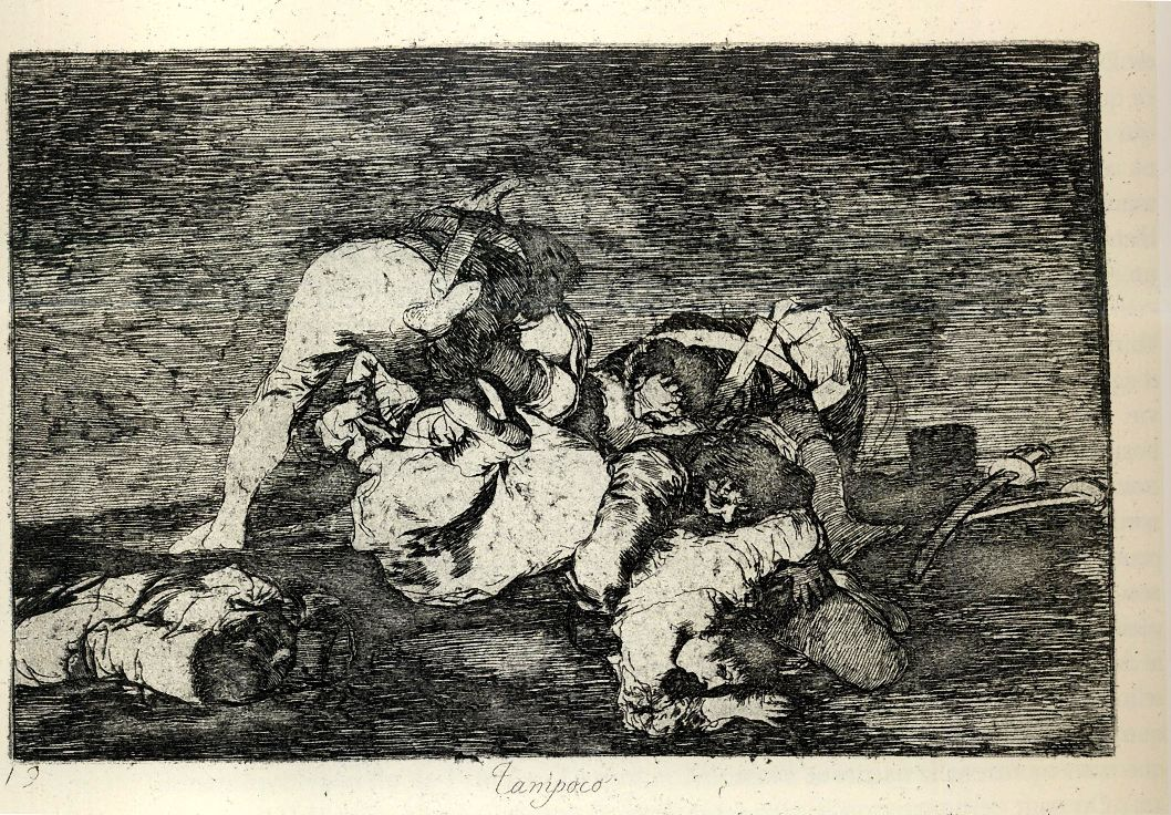 goya truth and war essay Goya, disasters of war no37 (1810-1820) after napoleon's defeat and the bourbon monarch ferdinand vii's restoration in 1814, goya proclaimed spain's most glorious insurrection against the tyrant of europe.