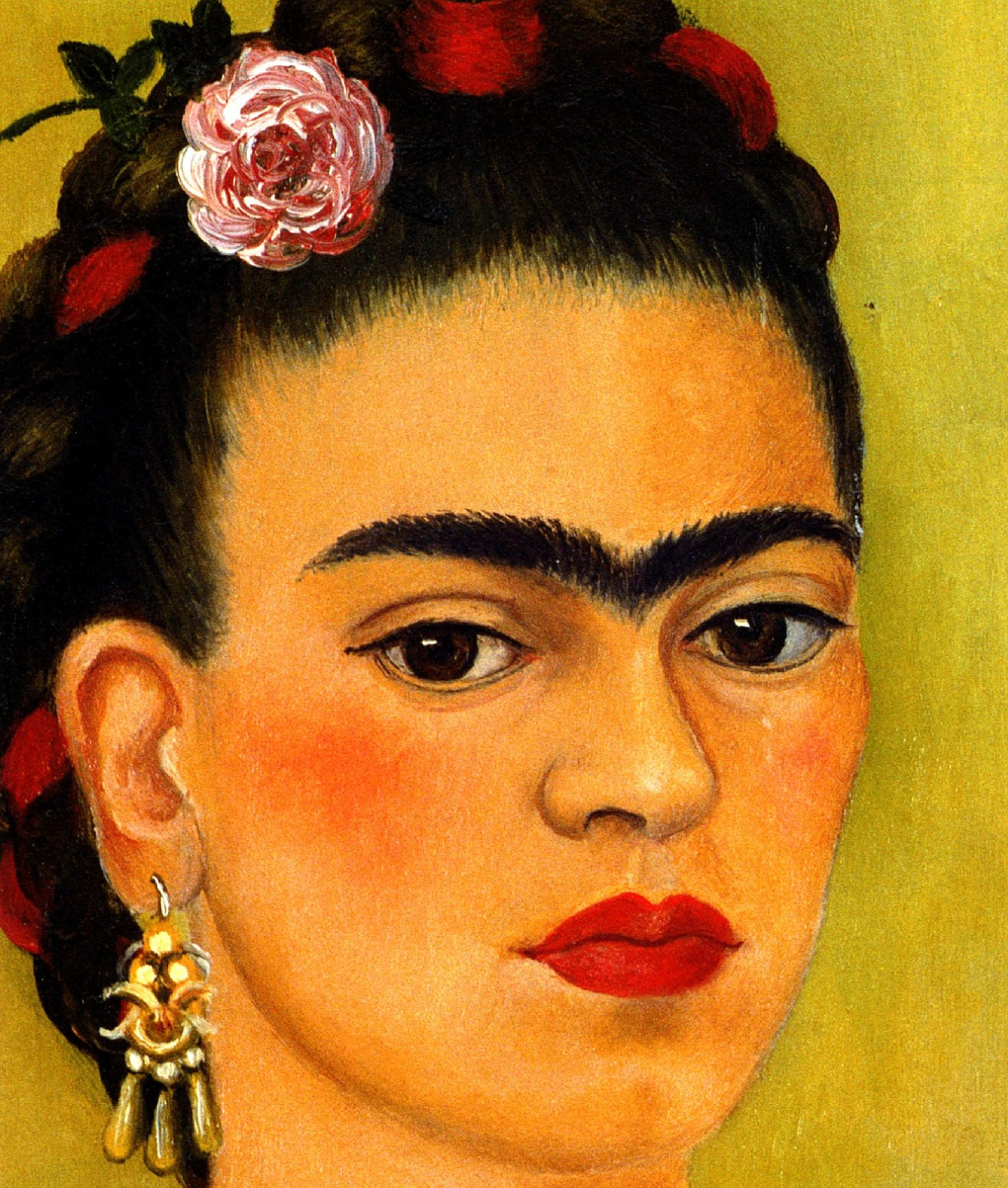 photo clio team 1937 frida kahlo autoportrait d di l on troski ou entre les rideaux. Black Bedroom Furniture Sets. Home Design Ideas