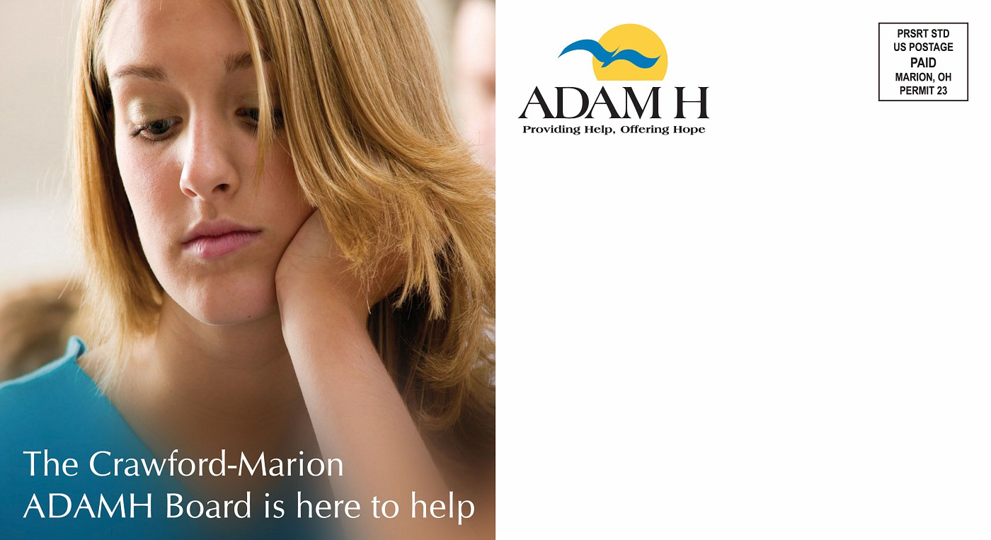 ADAMH Mailer 1 - Side 1