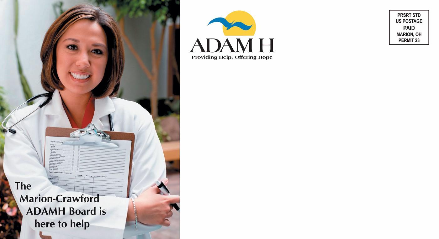 ADAMH Mailer 2 - Side 1