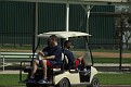 Joe Mauer always seems to have a ride, seldom walks anywhere