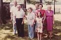 Carroll Sparkman, Luke Austin, Olive AUSTIN Ellis, Kenneth Austin, Mildred AUSTIN West, Jamie West, and Cora HATFIELD Austin.