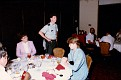 Unknown, 1LT. Steve Dunn, Unknown, at Fort Monroe Officers Club, between 1985-1987.