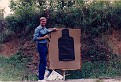 Me at target practice on a Range in Indiana with Tony Huffman.