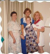 Jean, Valerie, Christie and Dena in Washington DC, 1994
