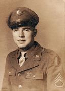 SSG. Elwood Sharp (1920-1993) Combat wounded WWll Veteran.