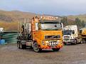 SJ57 AEA   Volvo FH 520 6x4 rigid / drawbar timber truck