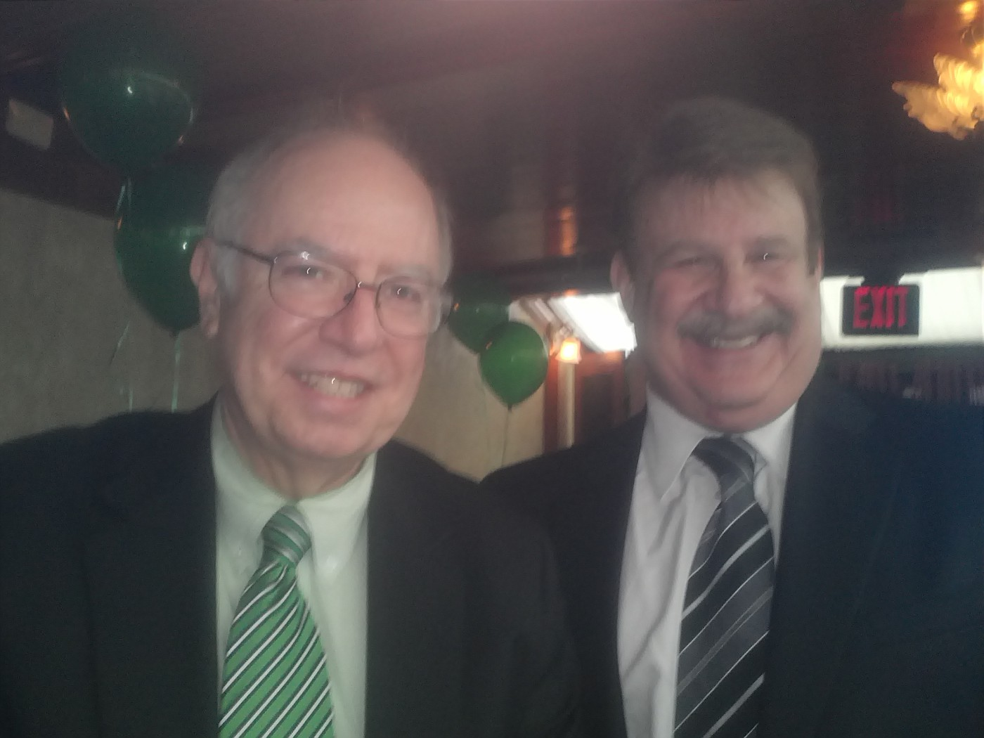 Bob and Attorney Howard Shiffman