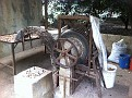 Macadamia Nut Husk Removing Machine.