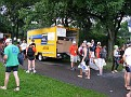 "This is the Penske Truck that I drove to and in Central Park...  thru thousands of people... It was ""insane"" '-)))"