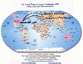 Travel Plan Globe Map for Baltics Trip 9-09 edit color