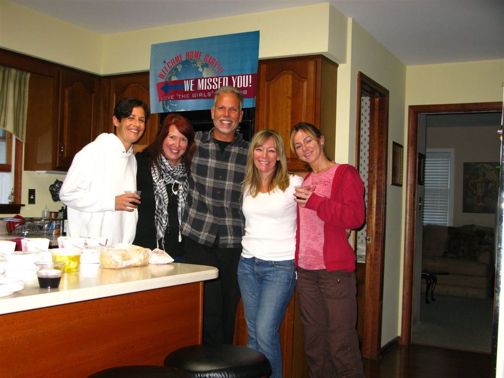 My Welcome Home Party for my from Finland and the Baltics Trip 9-20-09