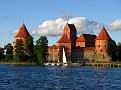 Thursday Sept 17-09 / Exploring Trakai Castle in Lithuania.
