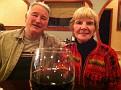 Toast to my sister, Anita & Ed at the Mandarin Buffet ;-)
