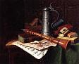 Still Life with Clarinet [1883]