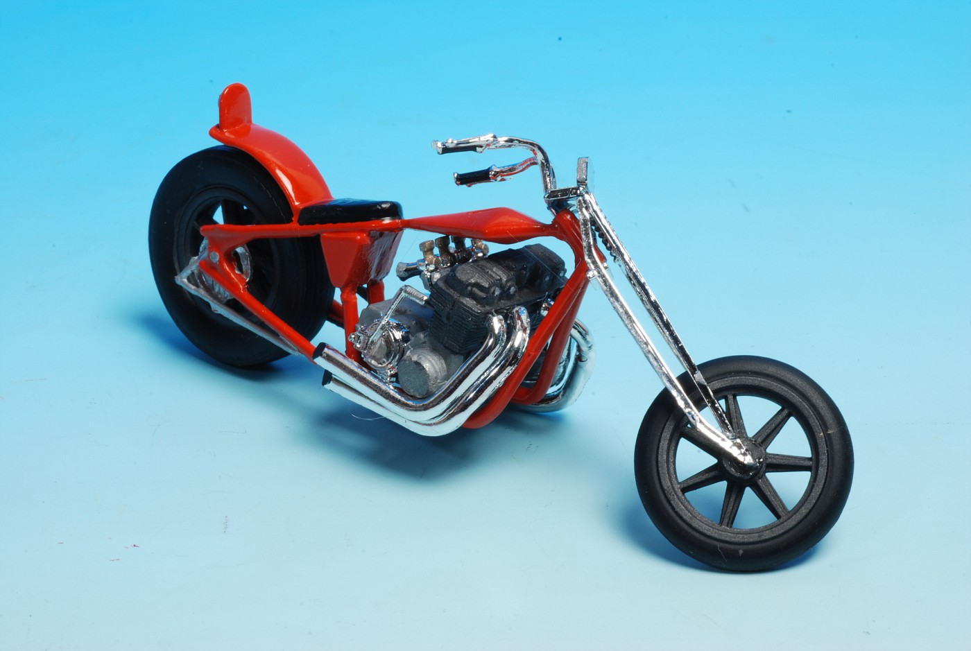 Hereu0027s The Monogram Cherry Bomb Harley Chopper. This One Is Built Box Stock  And Is A Good Comparision With The One Pictured Earlier In This Thread (by  ...