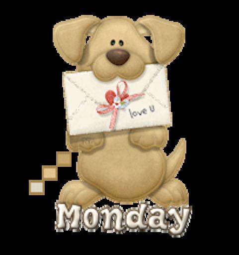 DOTW Monday - PuppyLoveULetter