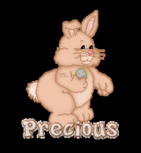 Precious - BunnyWithEgg
