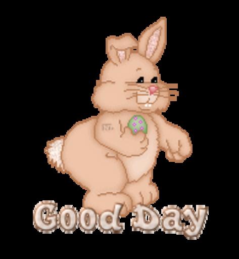 Good Day - BunnyWithEgg