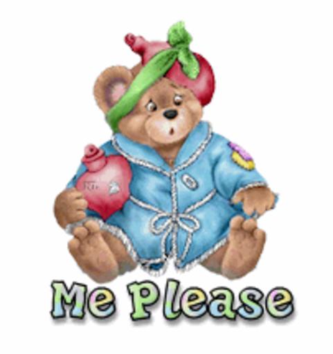 Me Please - BearGetWellSoon
