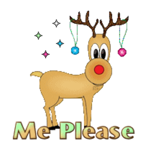 Me Please - ChristmasReindeer