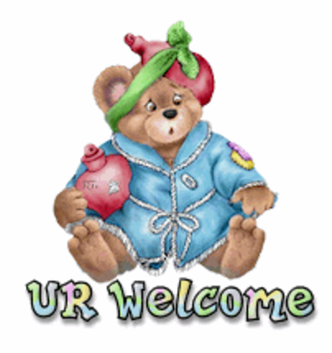 UR Welcome - BearGetWellSoon