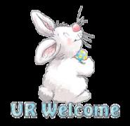 UR Welcome - HippityHoppityBunny