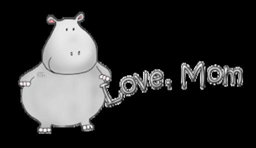 Love, Mom - CuteHippo2018
