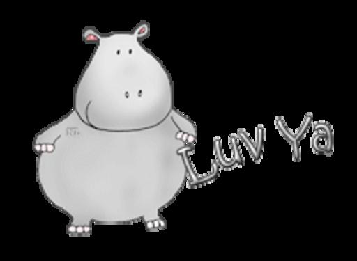 Luv Ya - CuteHippo2018
